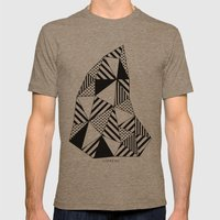 Ijsberg Mens Fitted Tee Tri-Coffee SMALL