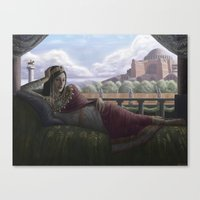 Byzantine Empress Canvas Print