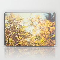 Fading Fall Leaves Laptop & iPad Skin