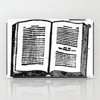 Vintage Book iPad Case