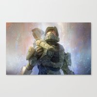 HALO 4 Canvas Print