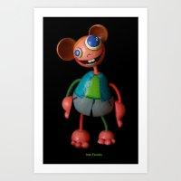 Ivan Favolas Art Print