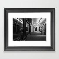 underground Framed Art Print