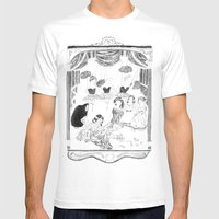 Theatre Mens Fitted Tee White SMALL