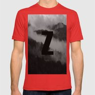 Zagoroxoria Mens Fitted Tee Red SMALL