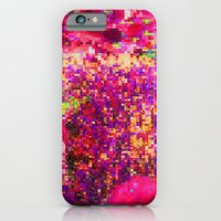 iPhone & iPod Case featuring Life is a disco by Pink grapes