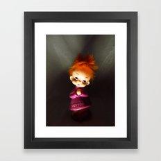 I Wuv You Framed Art Print