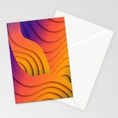 Bold Waves Stationery Cards