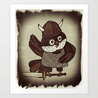 The Wisest Viking Art Print