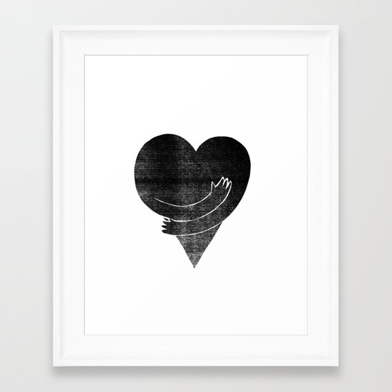 Illustrations / Love Framed Art Print