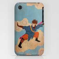 iPhone 3Gs & iPhone 3G Cases featuring Sun Wukong by Nimbws