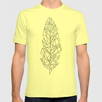 liberté Mens Fitted Tee Lemon SMALL