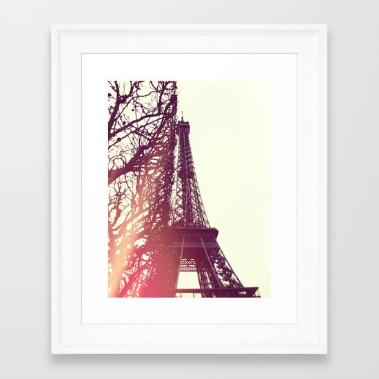 Paris II Framed Art Print