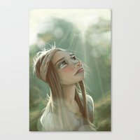 Morning Sunlight Canvas Print
