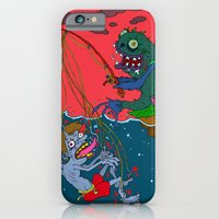 iPhone & iPod Case featuring Fishin' time! by  Grotesquer
