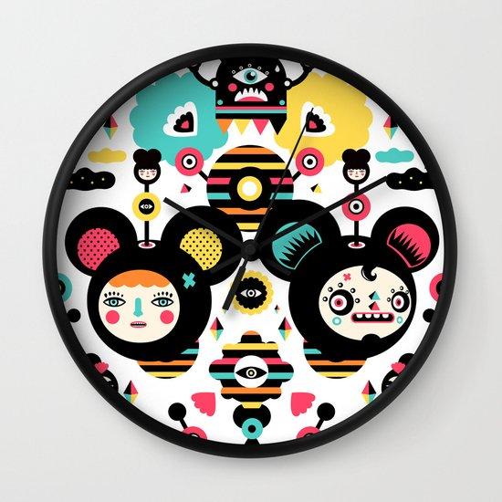 Collaboration Muxxi X Yema Yema Wall Clock