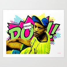 Fresh Prince of Bel-Air Art Print