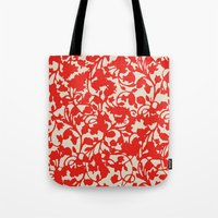 Earth Red Tote Bag