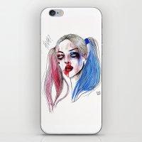 Margot As Harley Quinn F… iPhone & iPod Skin