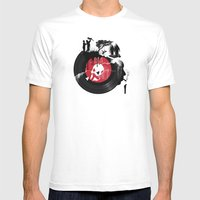 CHANGES Mens Fitted Tee White SMALL