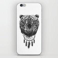 Don't wake the bear iPhone & iPod Skin