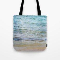 Teal Ocean  Tote Bag