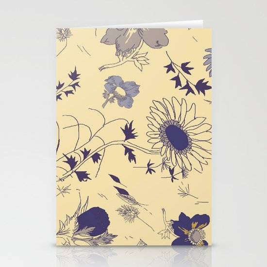 flowers Stationery Card