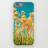 iPhone & iPod Case featuring Blue & Gold & Green by Melanie Ann