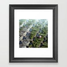Keyworld Framed Art Print