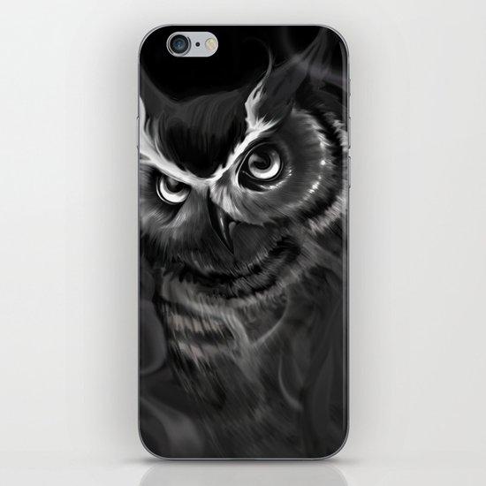 Owl Aflame iPhone & iPod Skin