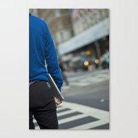 IPad Blue Canvas Print