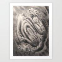 GHOST 14 Art Print