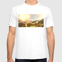 Crackle, Fizz, Pop By D.… Mens Fitted Tee White SMALL