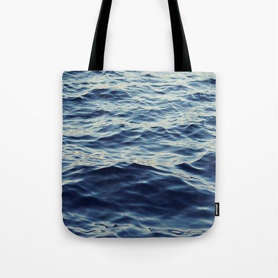 Water Waves Tote Bag
