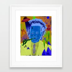 Giorgio A. Tsoukalos (ancient aliens guy) Framed Art Print