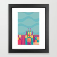 It's a small world after all | Disney inspired Framed Art Print