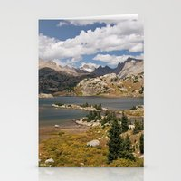 Alpine Lake In The Wyomi… Stationery Cards