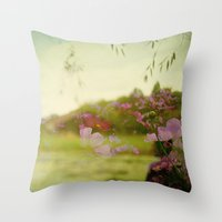The Air Smelled Like Lig… Throw Pillow
