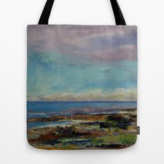 California Seascape Tote Bag