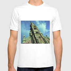 God is wise. Mens Fitted Tee White SMALL