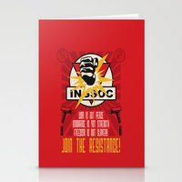Join The Resistance Stationery Cards
