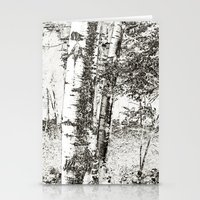 North Woods Sketch Stationery Cards