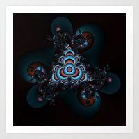 Psychodelic Dreams Art Print
