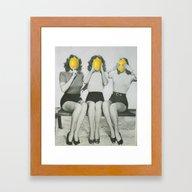 Lemonhead  Framed Art Print