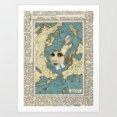 Virginia Art Print