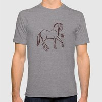2014 Mens Fitted Tee Athletic Grey SMALL