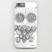 Angelina Bowen Fine Art Print- Owl iPhone 6 Slim Case
