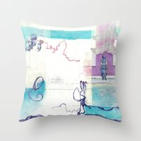 Lost & Found Throw Pillow