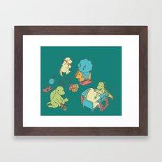 Kinder Framed Art Print