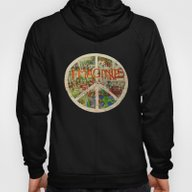 Peace Sign - Love - Graf… Hoody